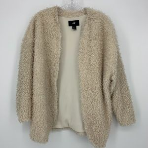 H & M Cardigan Jacket. Really Cute!  Size 10.